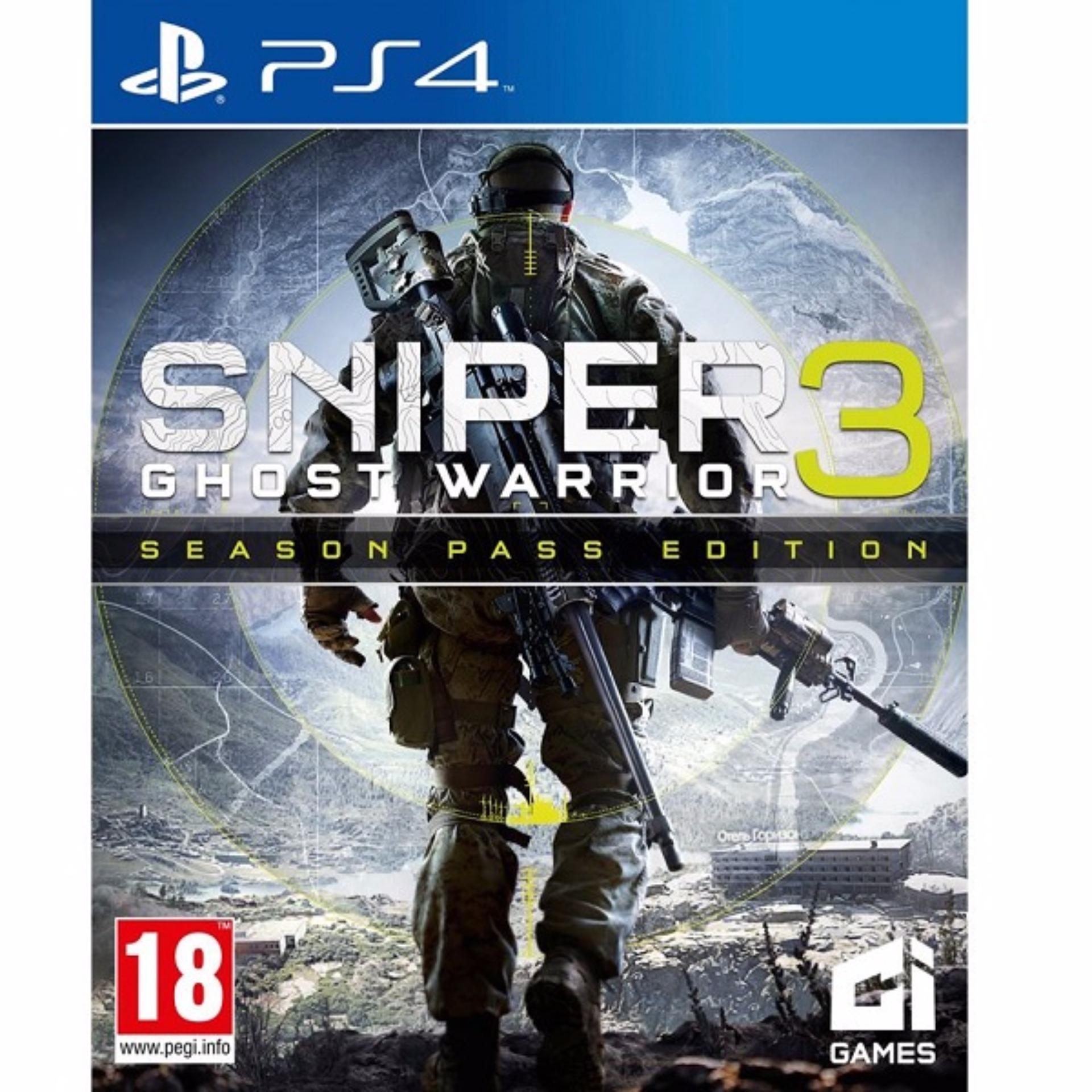 PS4 Sniper Ghost Warrior 3