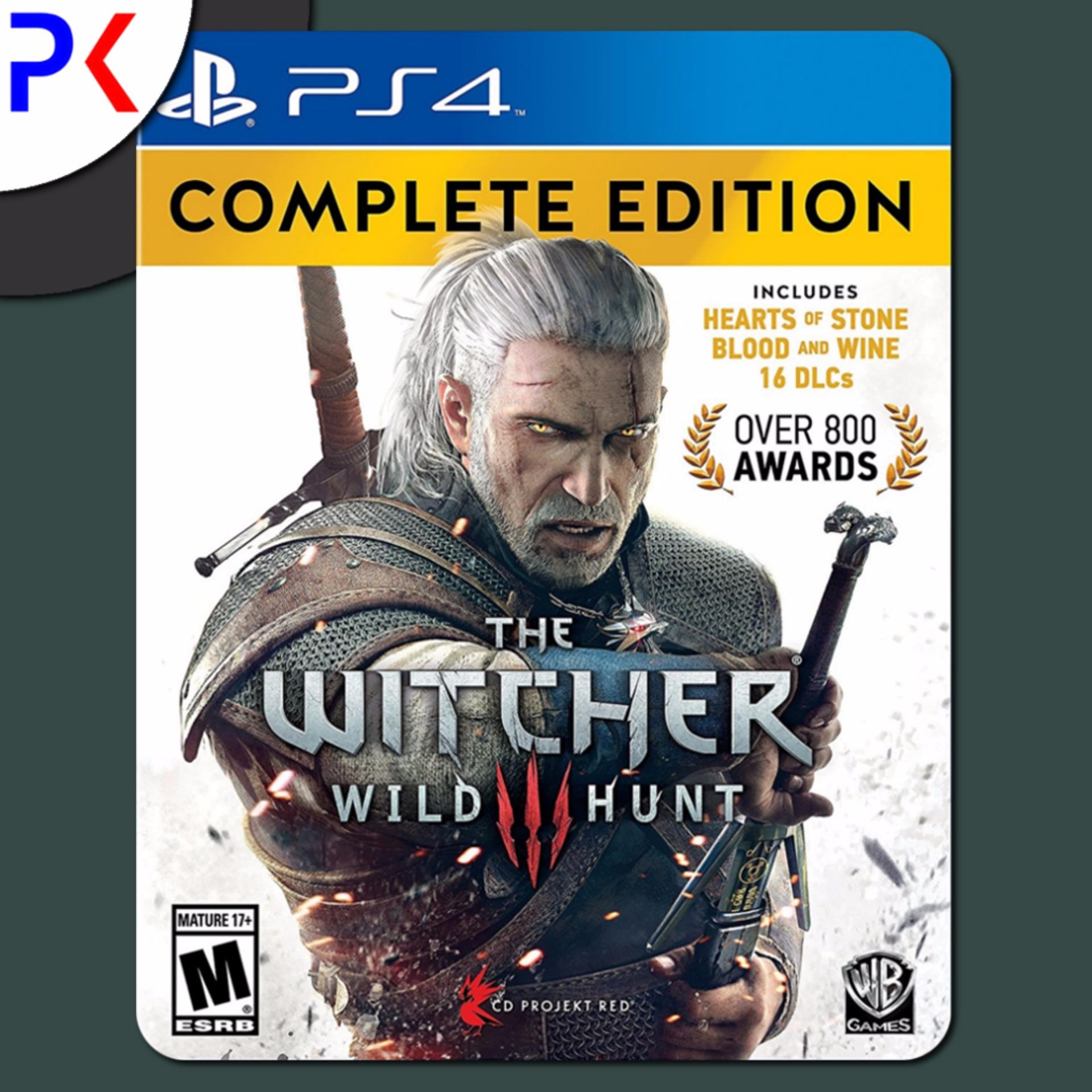 PS4 The Witcher 3: Wild Hunt Complete Edition (R1)