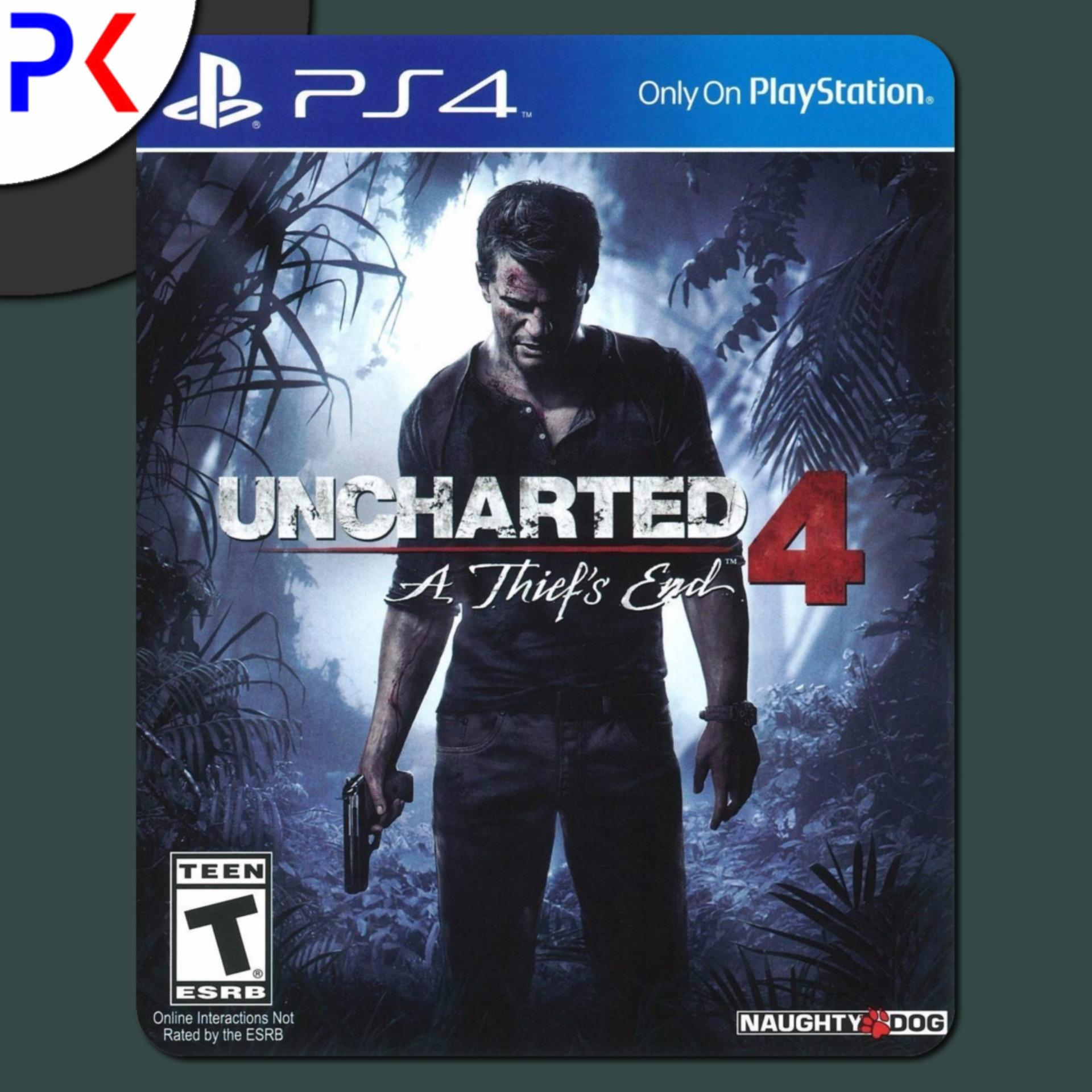 PS4 Uncharted 4: A Thief's End (R2)