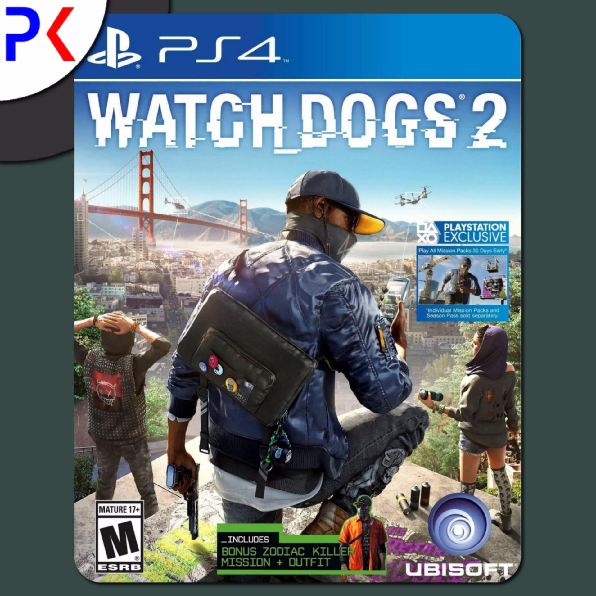 PS4 Watch Dogs 2 (R2)