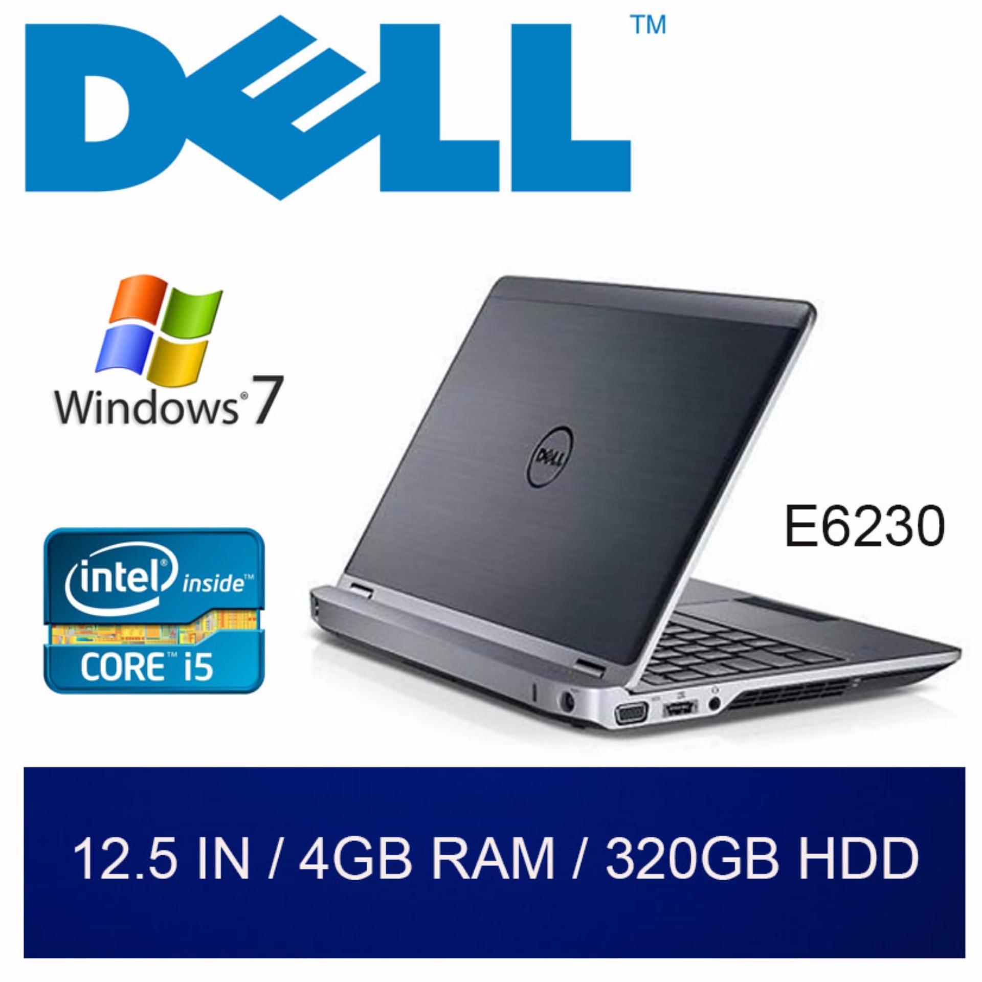 Refurbished Dell E6230 Laptop / 12.5in / i5 / 4GB RAM / 320GB HDD / W7 / 1mth Warranty