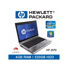 Refurbished HP 2570 Laptop / 12.5 Inch / Intel I5 / 4GB RAM / 320GB HDD / Euro Keyboard / Window 7 / 1mth Warranty