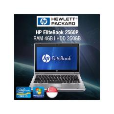 Refurbished HP EliteBook 2560p 12.5in Laptop – i5 / 4GB RAM / 320GB HDD / Jap KB / W7 / 1mth Warranty