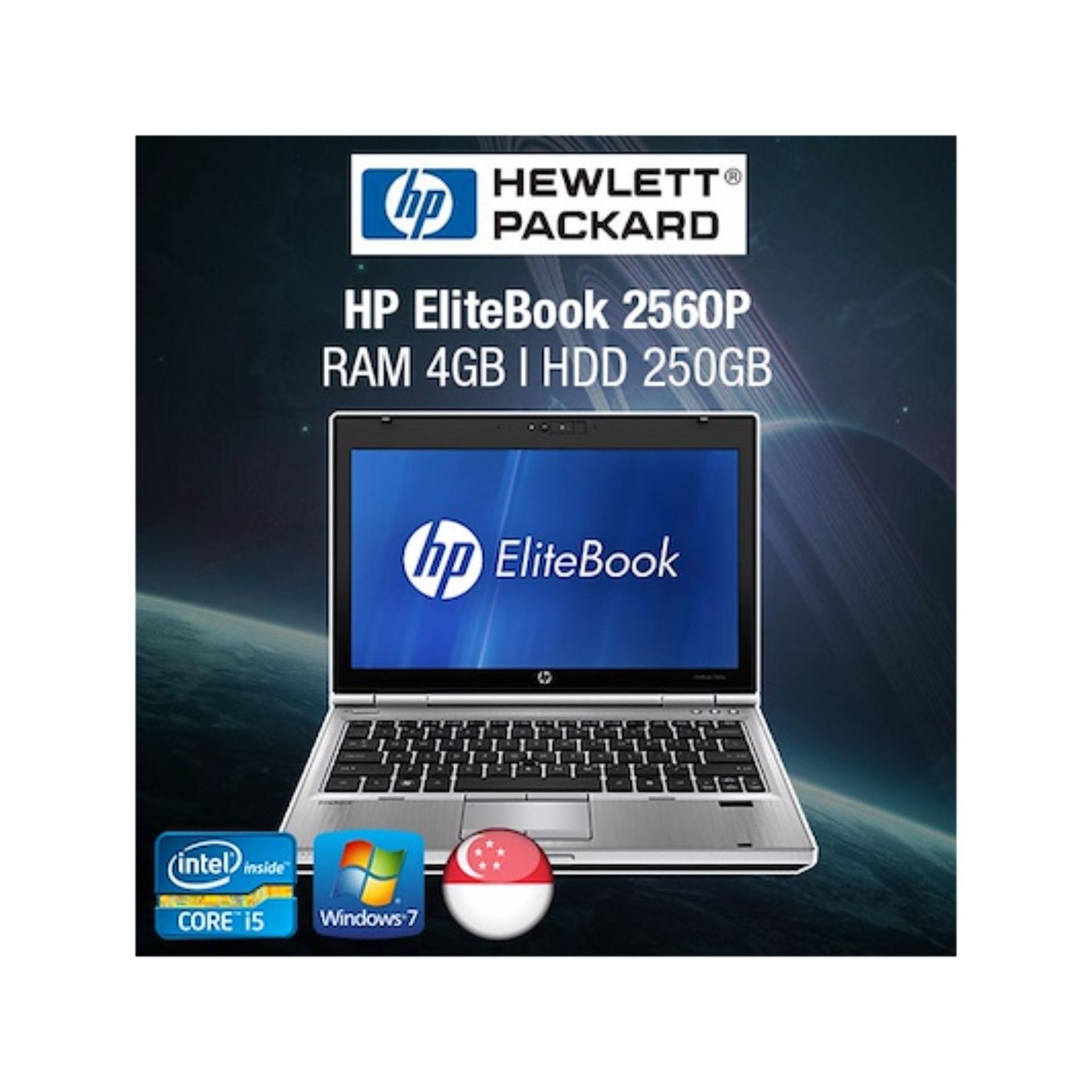 Refurbished HP EliteBook 2560p 12.5in Laptop – i5 / 4GB RAM / 320GB HDD / Jap KB / W7 / 1mth Warranty