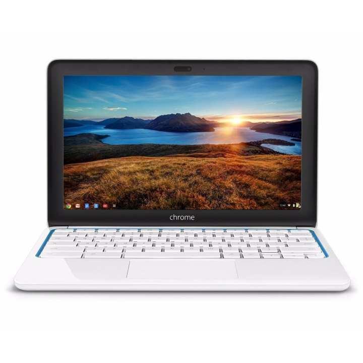 (Refurbished) HP Google Chromebook 11/ 11.6-inch Laptop, Samsung Dual-Core Processor 1.7GHz, 2GB RAM, 16GB SSD, 802.11b/g/n WiFi