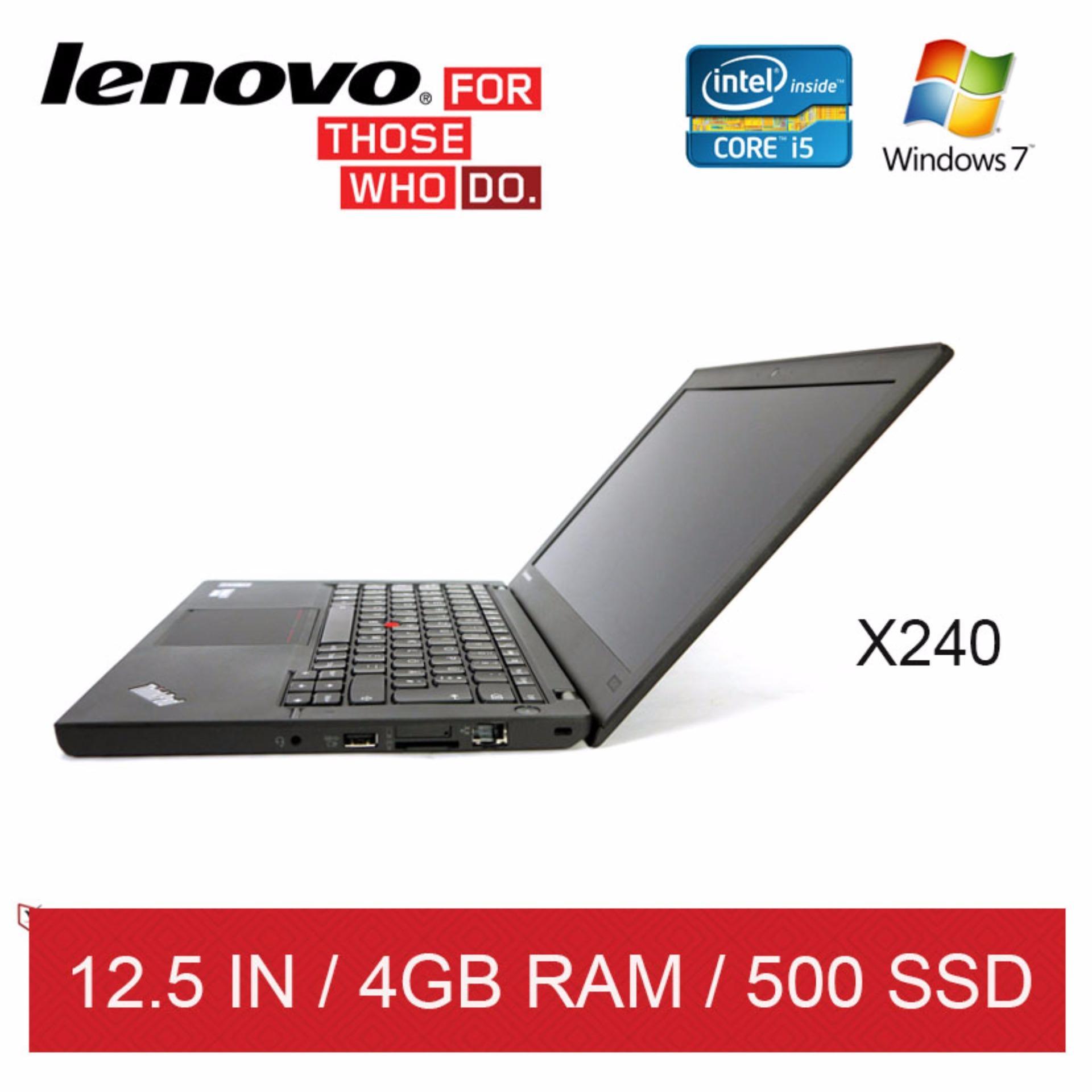 Refurbished Lenovo X240 Laptop / 12.5in / i5 / 4GB RAM / 128GB SSD / W7 / 1mth Warranty