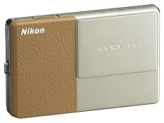 (Refurbished) Nikon Coolpix S70 12.1 Megapixel 5x Optical Zoom Digital Camera Champagne Light Brown (Export).