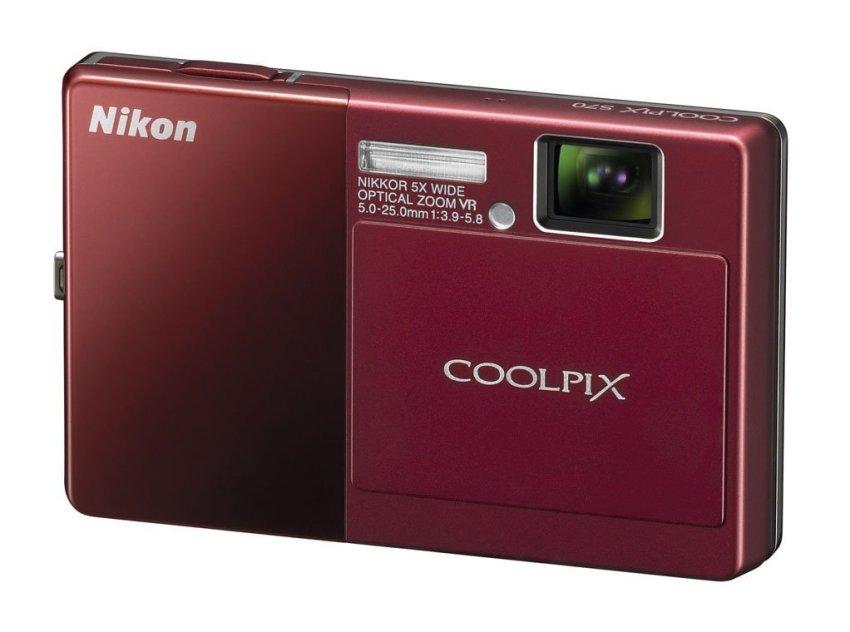 (Refurbished) Nikon Coolpix S70 12.1 Megapixel 5x Optical Zoom Digital Camera (Red).
