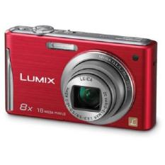 Refurbished ! Panasonic LUMIX DMC-FH27 Red 16.1MP Digital Camera w/ 8x Optical Zoom, 3.0″ Touch LCD Display, HD Movie Recording (Export)