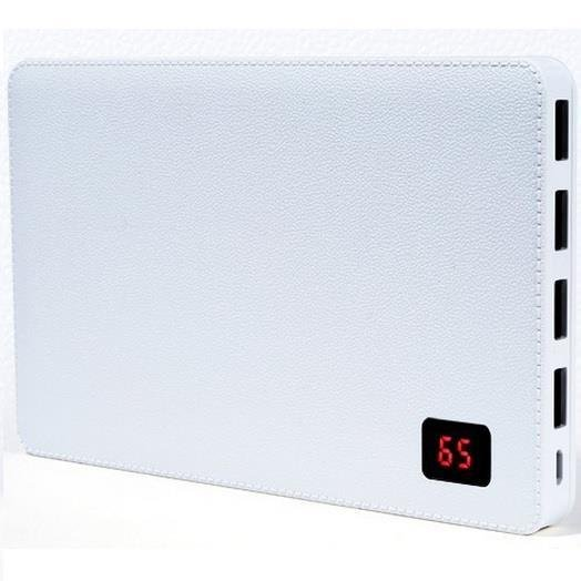 Remax Proda 30000mAh Powerbank External Battery Charger Notebook 4 USB Ports White