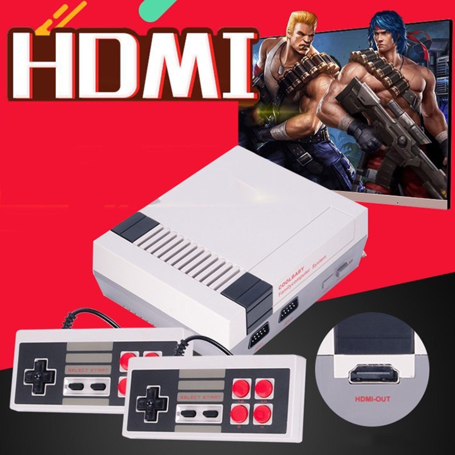 Retro Classic TV game console HDMI Built-in 600 Games