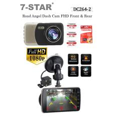 Dash cam Car Camera Recorder FHD Dual-Lens (Front & Rear) with 4.0inch Screen – front & back car camera