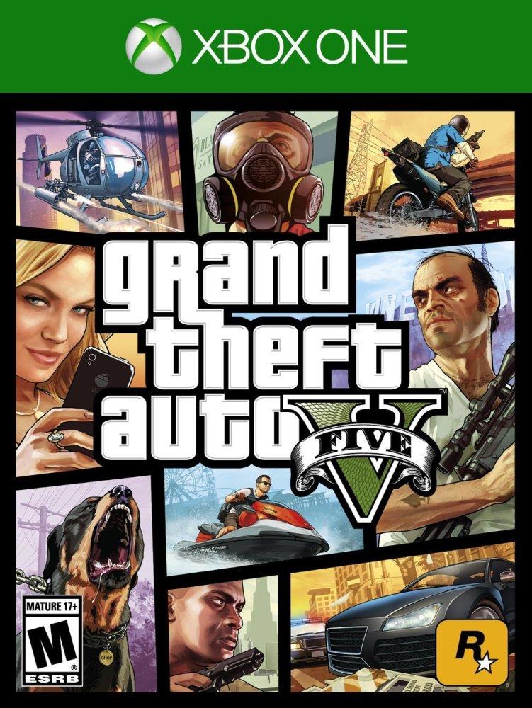 Rockstar Games XBox One Grand Theft Auto V