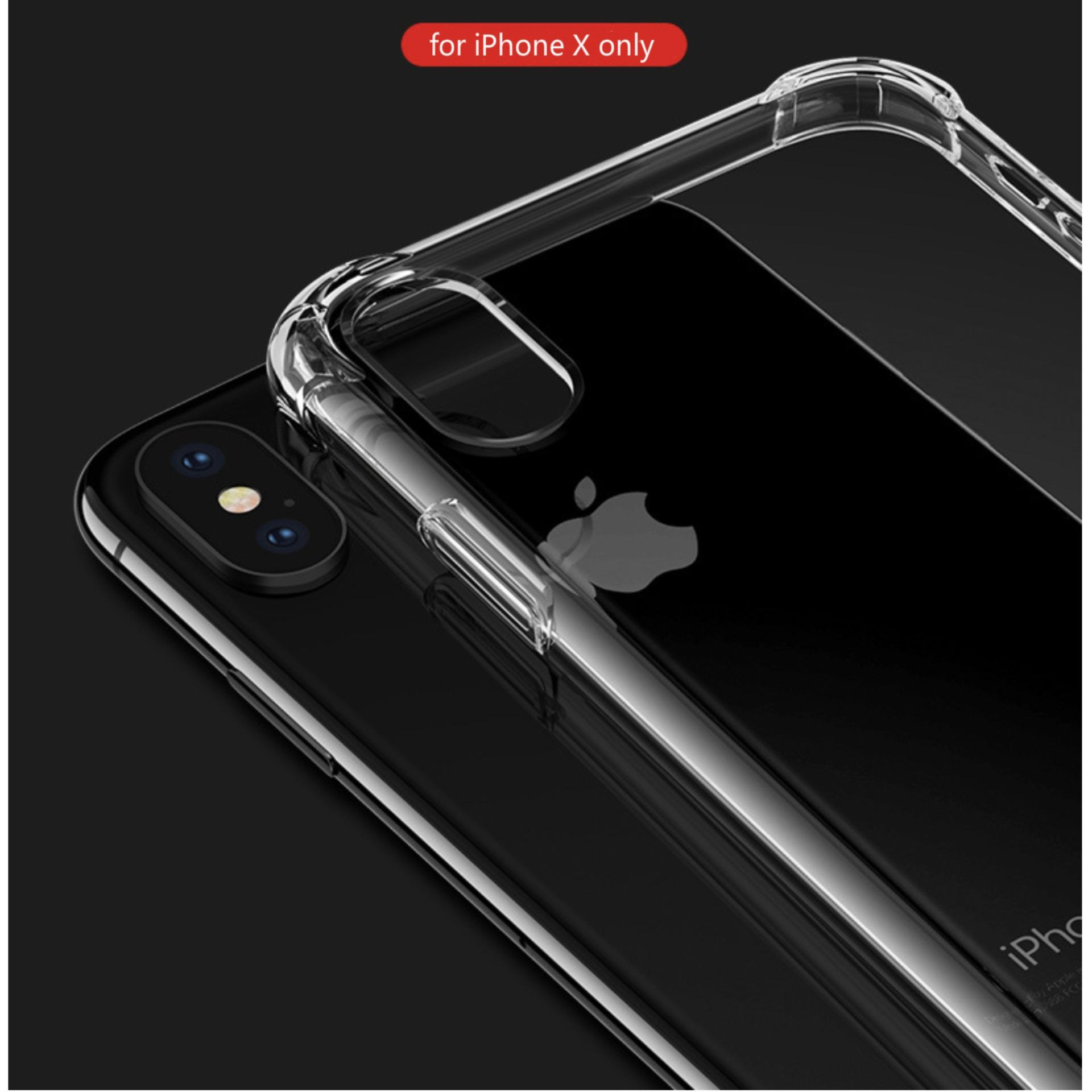 Shockproof Anti-knock Soft Silicone iPhone X iPhone XS iPhone XSMax iPhone XR Phone Cover Casing Non Slip Matte Surface Premium...