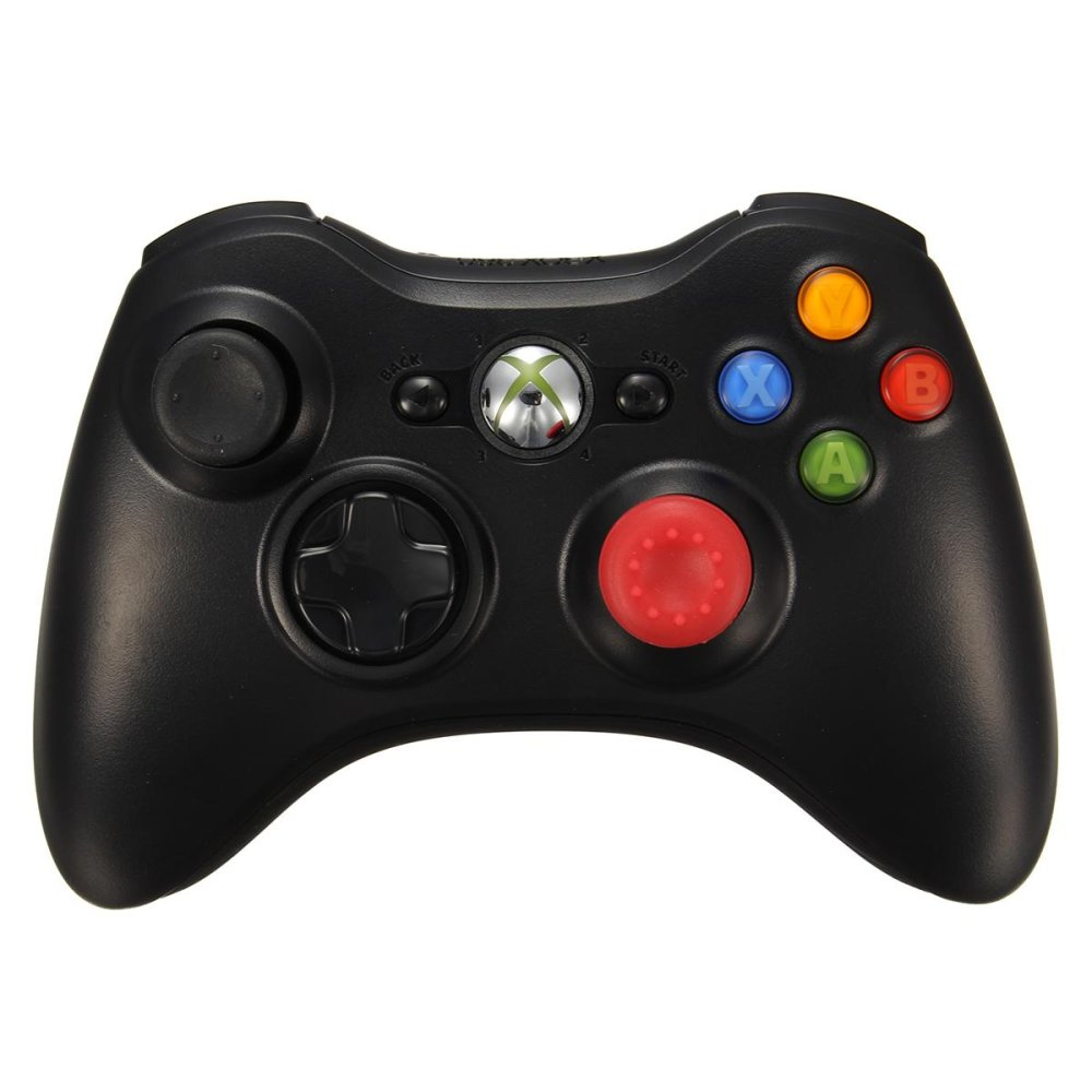 Silicone Analog Controller Thumb Stick Grips Caps Covers thumbstick grips for Xbox360/Xbox One/PS3/PS4 Controller Red - intl