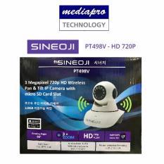 Sineoji PT498V – HD 720P HD Wireless Pan & Tilt IP Camera with SD Card Slot