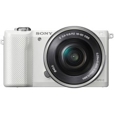 Sony ALPHA (E-Mt) ILCE-5000L/W 20.1 MP Mirrorless Digital Camera (White)