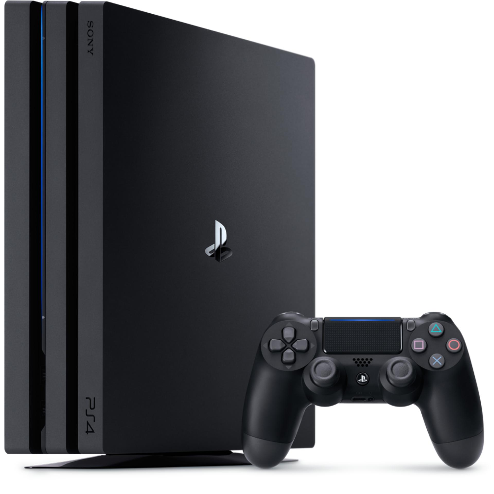 New Sony PS4 PRO Console 1TB (Black) + PS4 FIFA 18