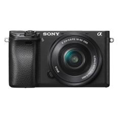 Sony Singapore α6300 E-mount Camera with APS-C Sensor + SELP1650 Lens (Black)