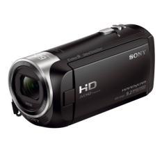 Sony Singapore CX405 Handycam® with Exmor R™ CMOS sensor (Black)