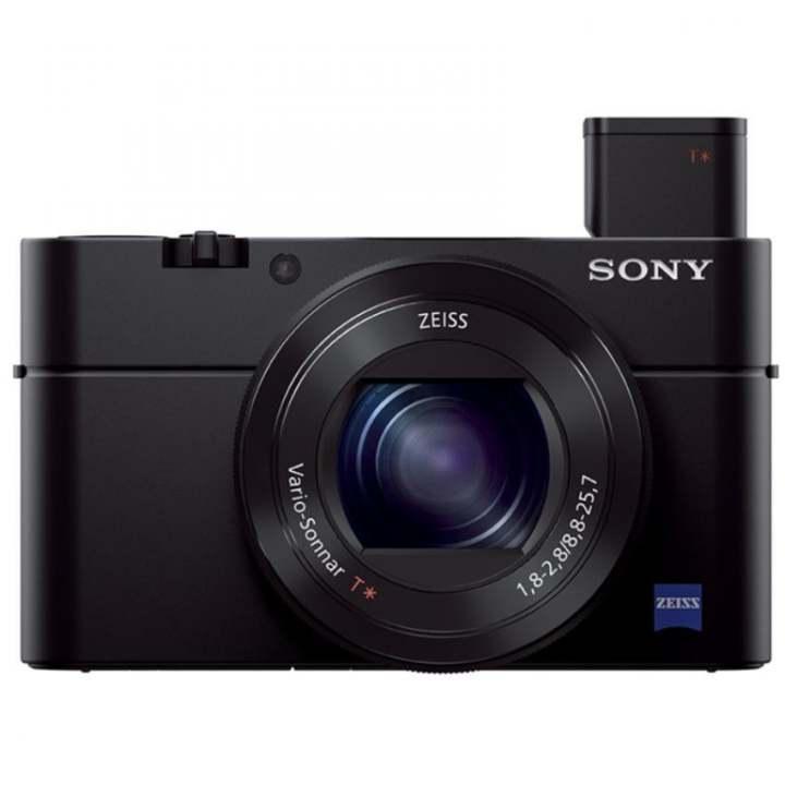 Sony Singapore Cyber-shot RX100 III 20.1 Megapixel 44x Optical Zoom Advanced Camera (Black)