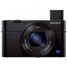 Sony Singapore Cyber-shot RX100 III 20.1 Megapixel 44x Optical Zoom Advanced Camera (Black)