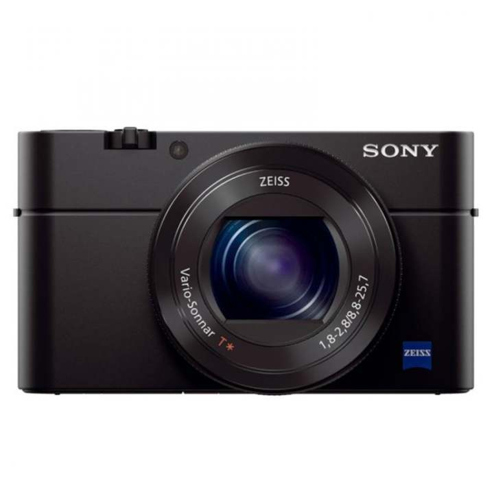 Sony Singapore Cyber-shot RX100 IV 20.1 Megapixel 2.9x Optical Zoom Advanced Camera (Black)
