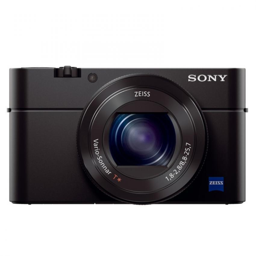 Sony Singapore Cyber-shot RX100 IV 20.1 Megapixel 2.9x Optical Zoom Advanced Camera (Black)