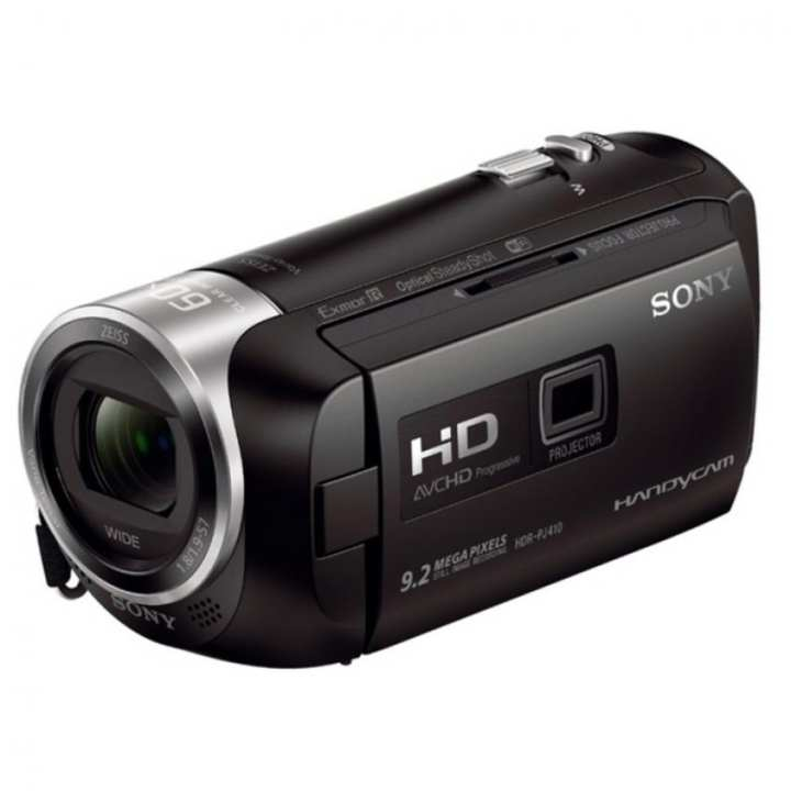 Sony Singapore PJ410 Handycam® with Built-in projector (Black)