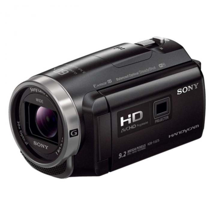 Sony Singapore PJ675 Handycam® with Built-in projector (Black)