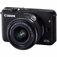 (Special Price) Canon EOS M10 Kit (EF-M 15-45mm F3.5-6.3 IS STM) (Black) (2 x 16GB SD Card)
