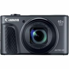 (Special Price) Canon Powershot SX730HS Digital Camera (Black) (2 x 16GB SD Card, 1 x Screen Protector)