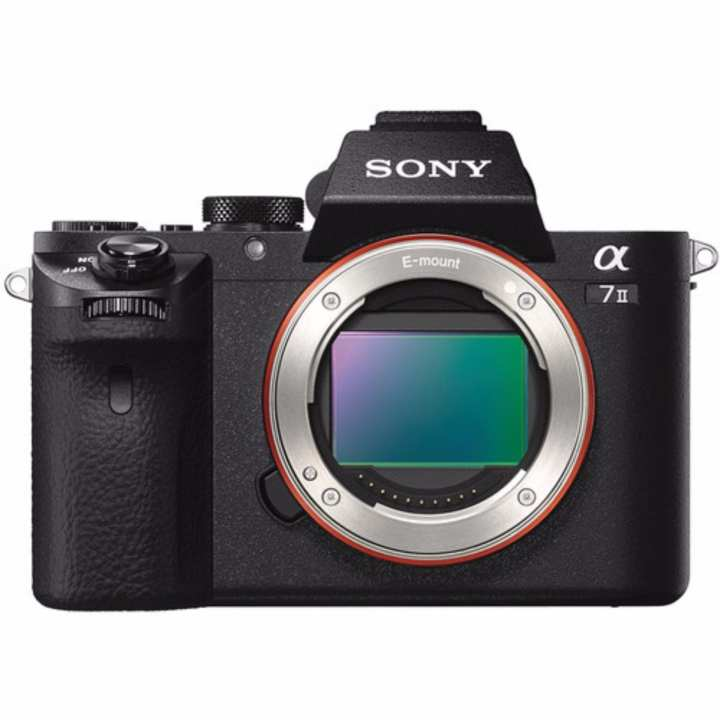 (Special Price) Sony ILCE-7M2 (A7 II) Body (Black) (Free 1 x 64GB SD Card, 1 x Case, 1 x Sony BC-TRW (External Battery Charger), 1 x Screen Protector, 1 x Additional NP-FW50 Battery)