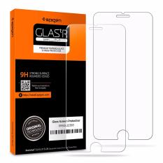 Spigen iPhone 8 Plus / 7 Plus Tempered Glass Screen Protector (2-Pack)