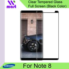 Tempered Glass Full Screen Protector (Black) For Samsung Galaxy Note 8