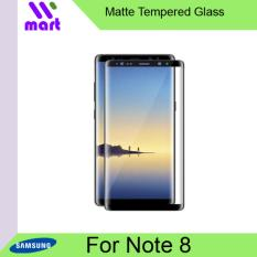 Tempered Glass Full Screen Protector (Matte) For Samsung Galaxy Note 8