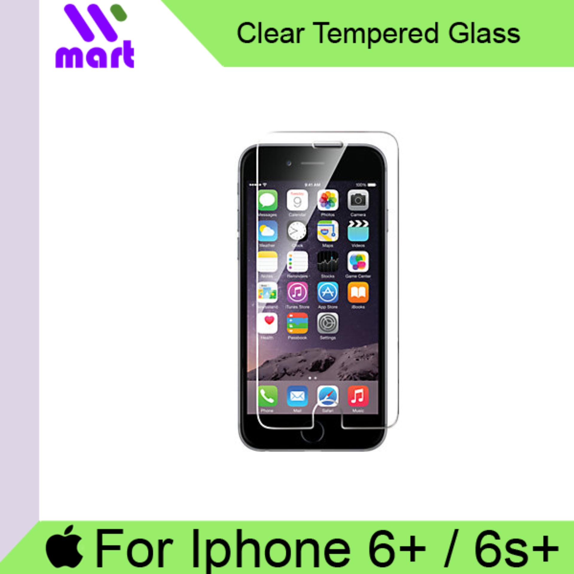 Tempered Glass Screen Protector (Clear) For Apple Iphone 6Plus /6s Plus