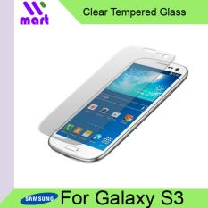 Tempered Glass Screen Protector (Clear) For Samsung Galaxy S3