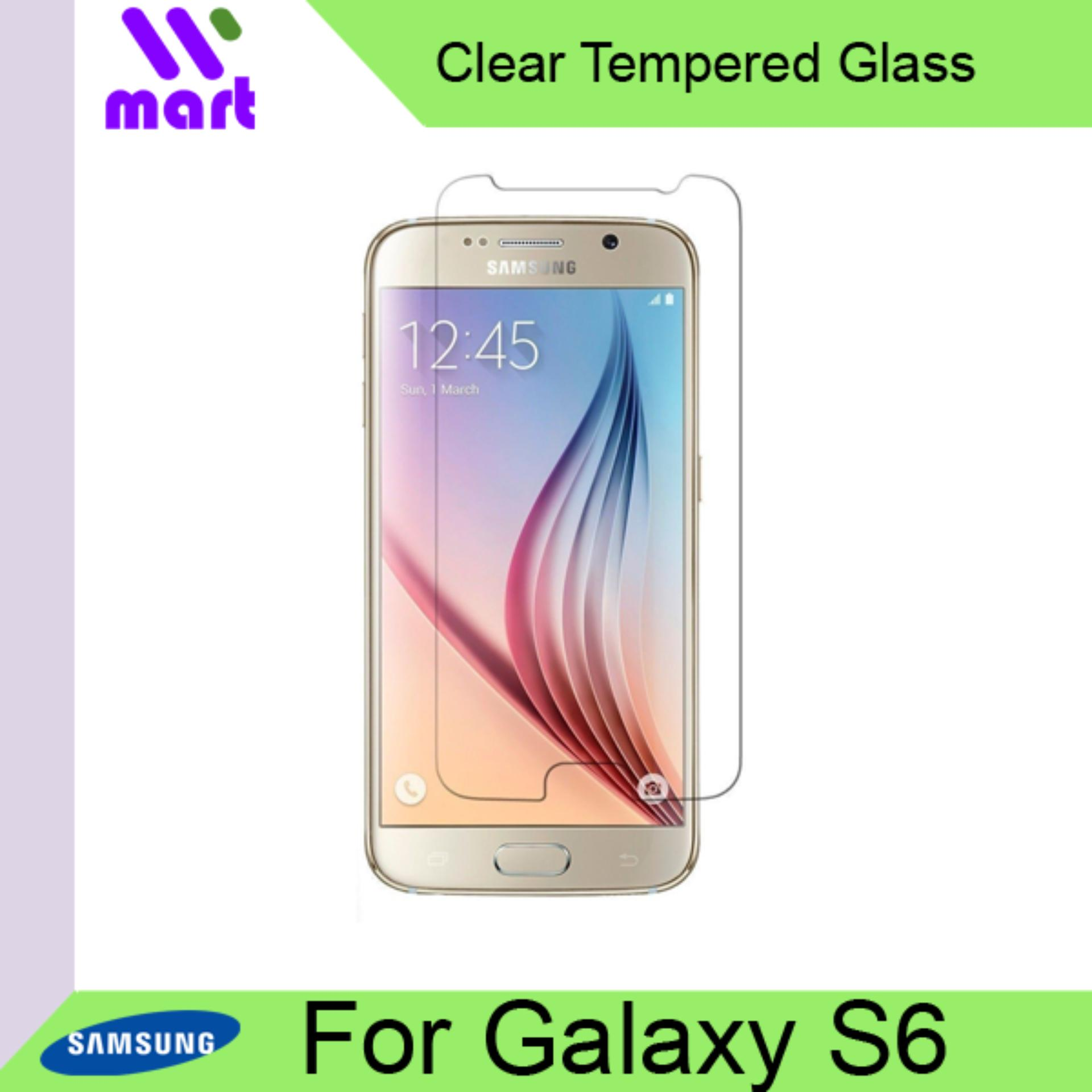 Tempered Glass Screen Protector (Clear) For Samsung S6