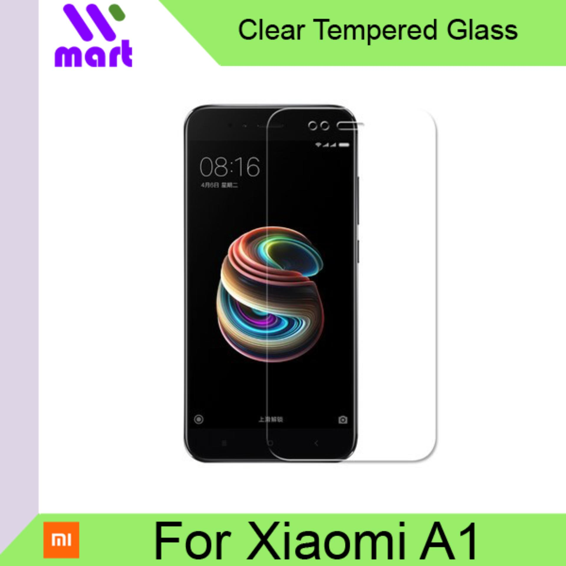 Tempered Glass Screen Protector (Clear) For Xiaomi A1