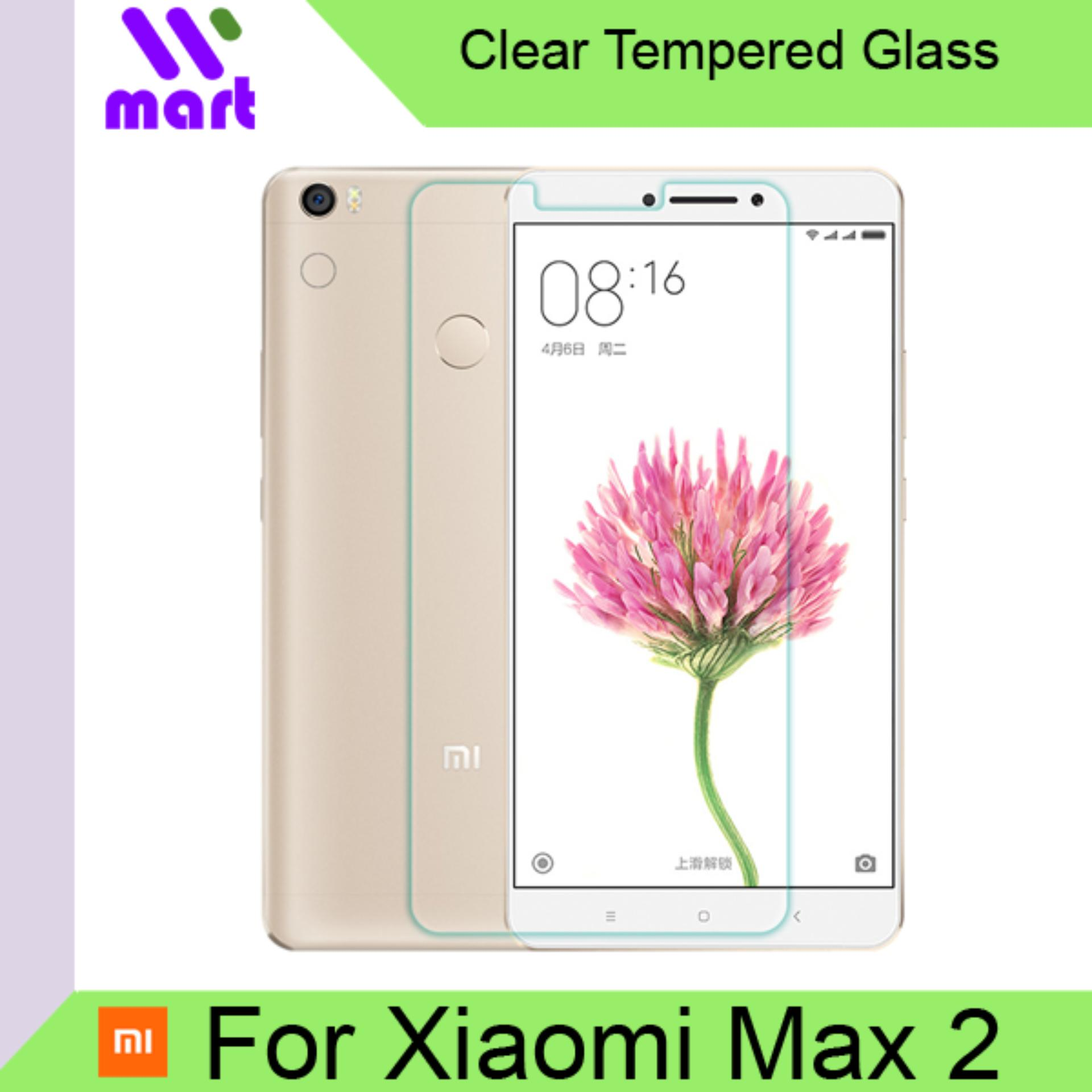 Tempered Glass Screen Protector (Clear) For Xiaomi Max 2