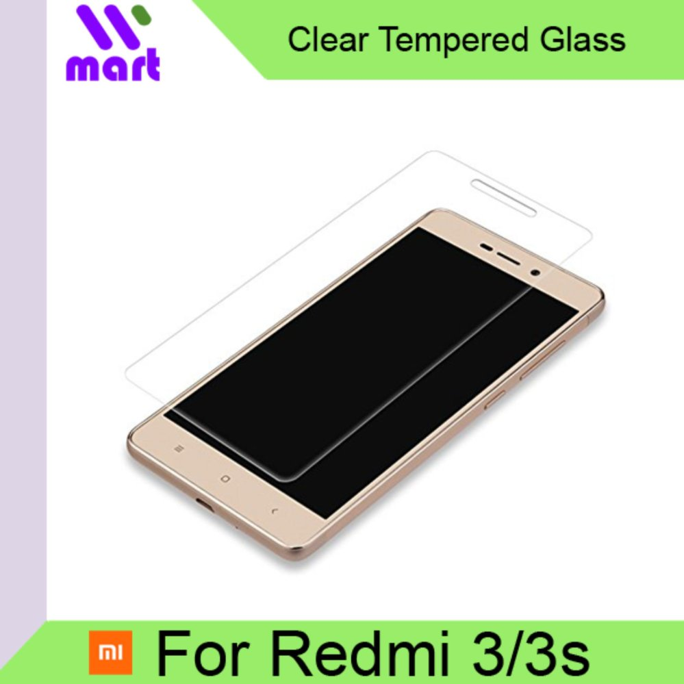 Tempered Glass Screen Protector (Clear) For Xiaomi Redmi 3/3s