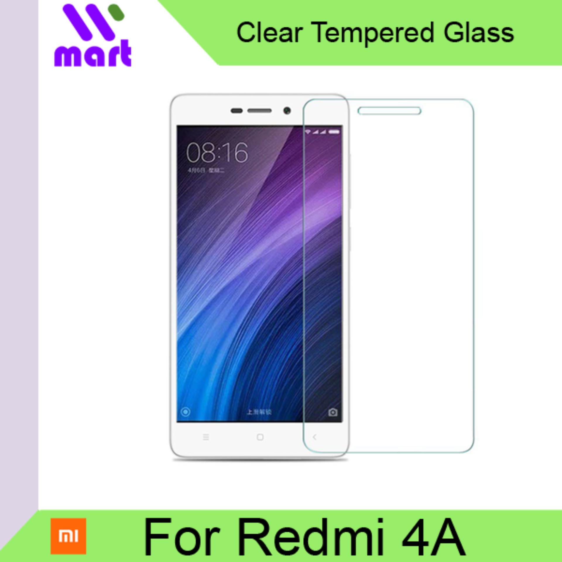 Tempered Glass Screen Protector (Clear) For Xiaomi Redmi 4A