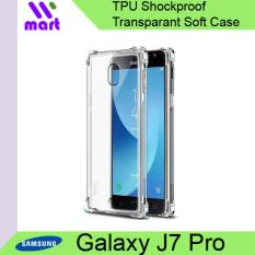 TPU Shockproof Transparent Soft Case For Samsung Galaxy J7 Pro