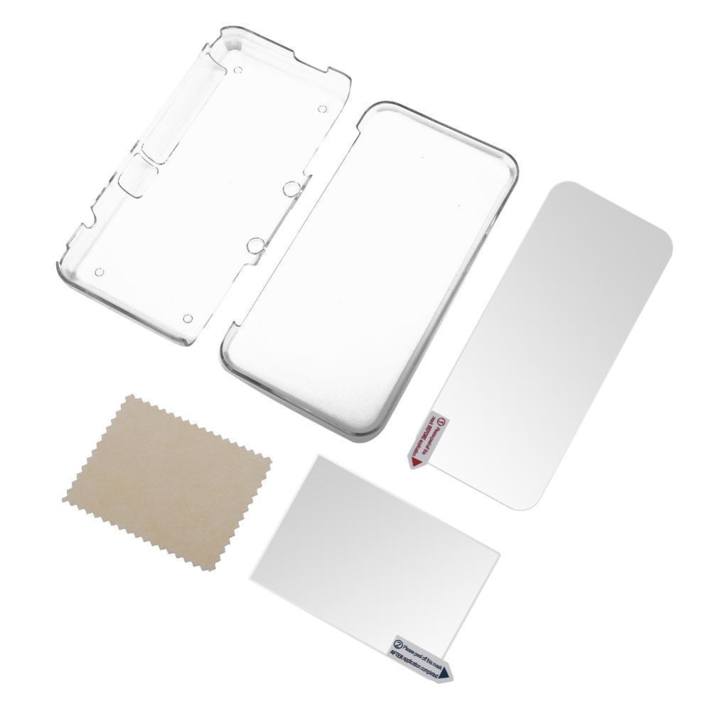 Transparent Protective Cover Case + Screen Film NEW XL