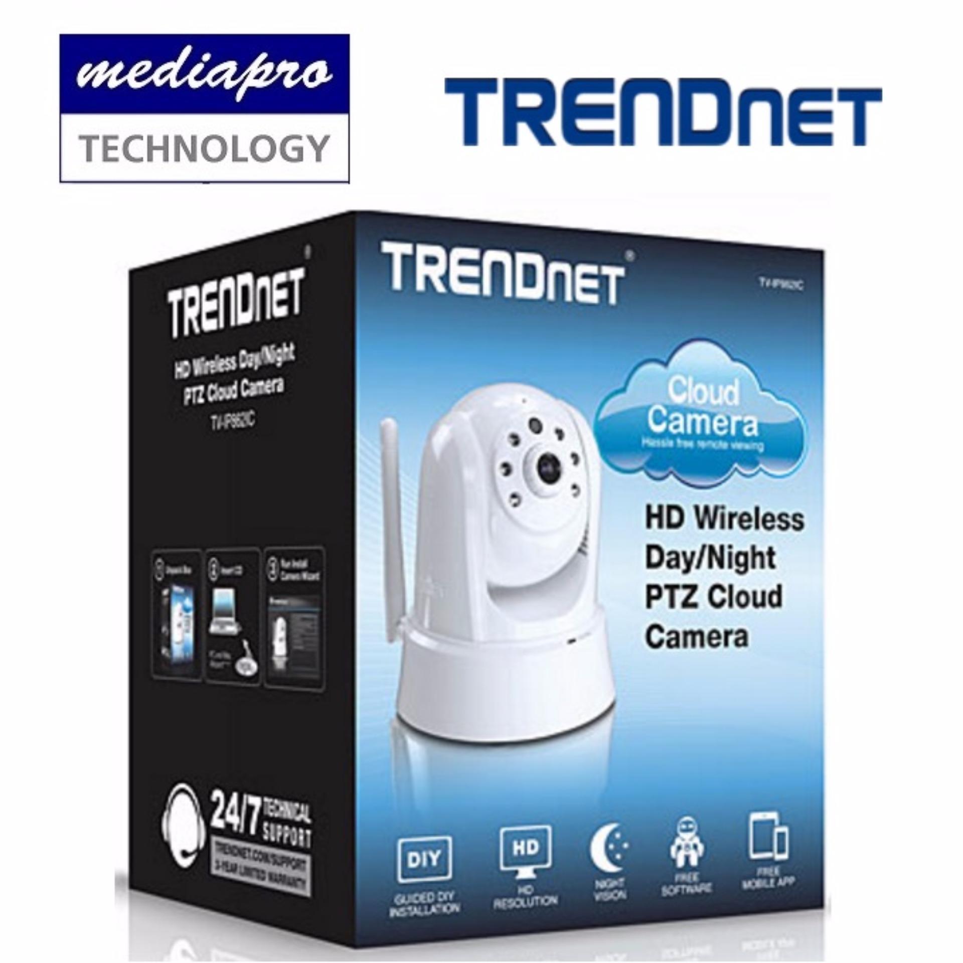 TRENDnet HD Wireless Day/Night PTZ Cloud Camera (TV-IP862IC )