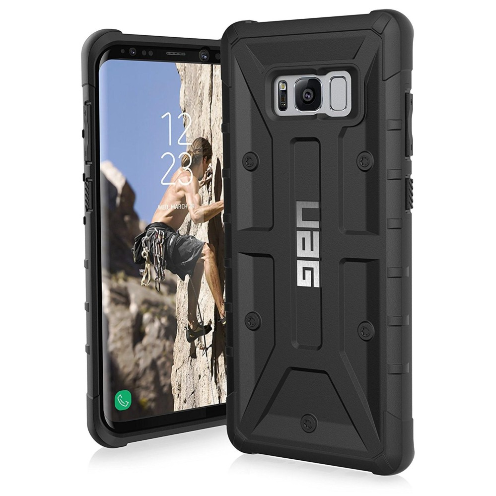 Buy 1, Get Another Casing for Free!!…UAG Samsung Galaxy S8+ Plasma Feather-Light Rugged Military Drop Tested Phone Case
