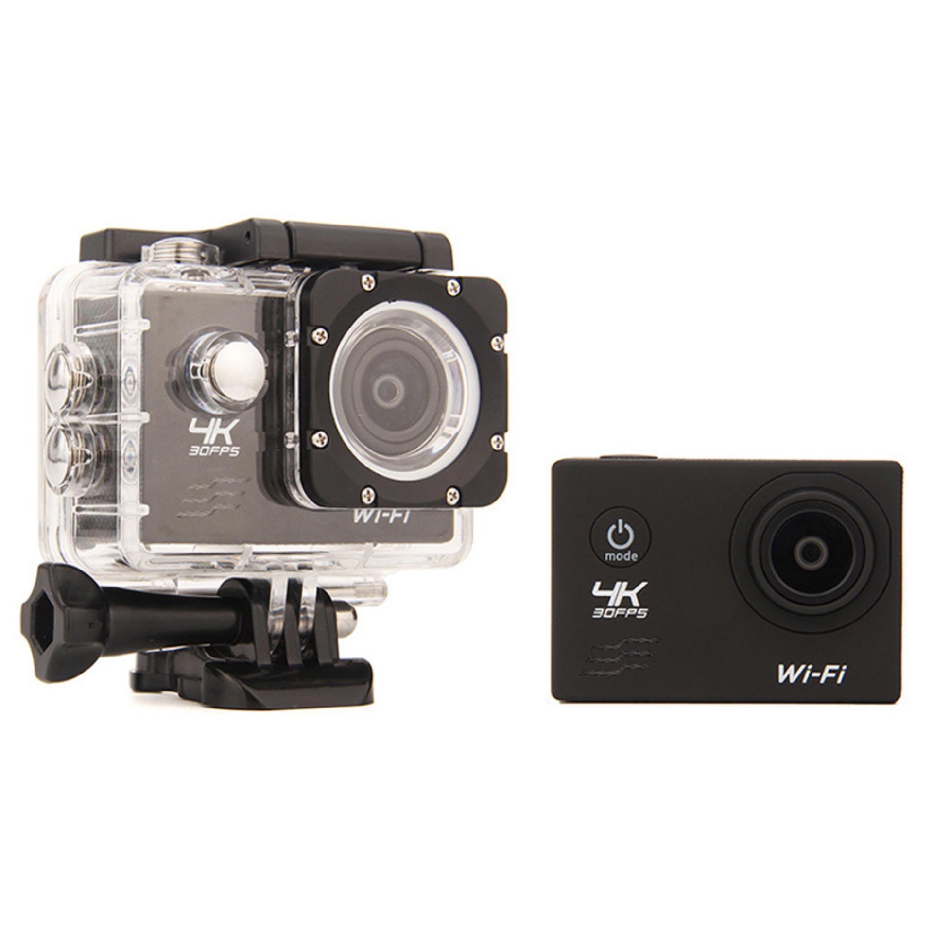 Ultra HD 4K WiFi 1080P Action camera DV Sport 2.0 LCD 170D lens go waterproof pro Hero Style camera Accessories