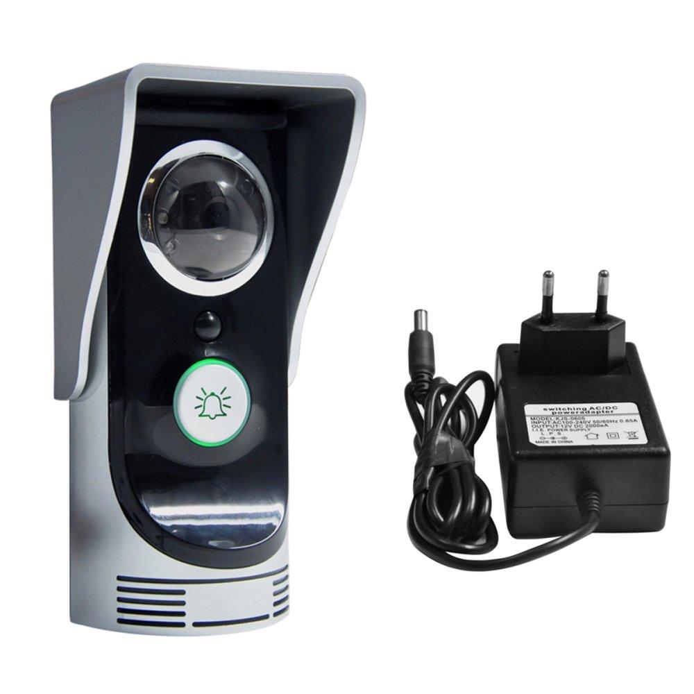 Wifi Video Door Phone Motion Detection Doorbell Rainproof Camera Connect Mobile -intl