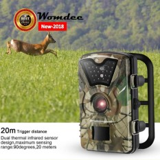 Womdee 1080P Trail Camera Wildlife Game Camera For Wildlife Monitoring And Home Security,battery Is Not Included – intl